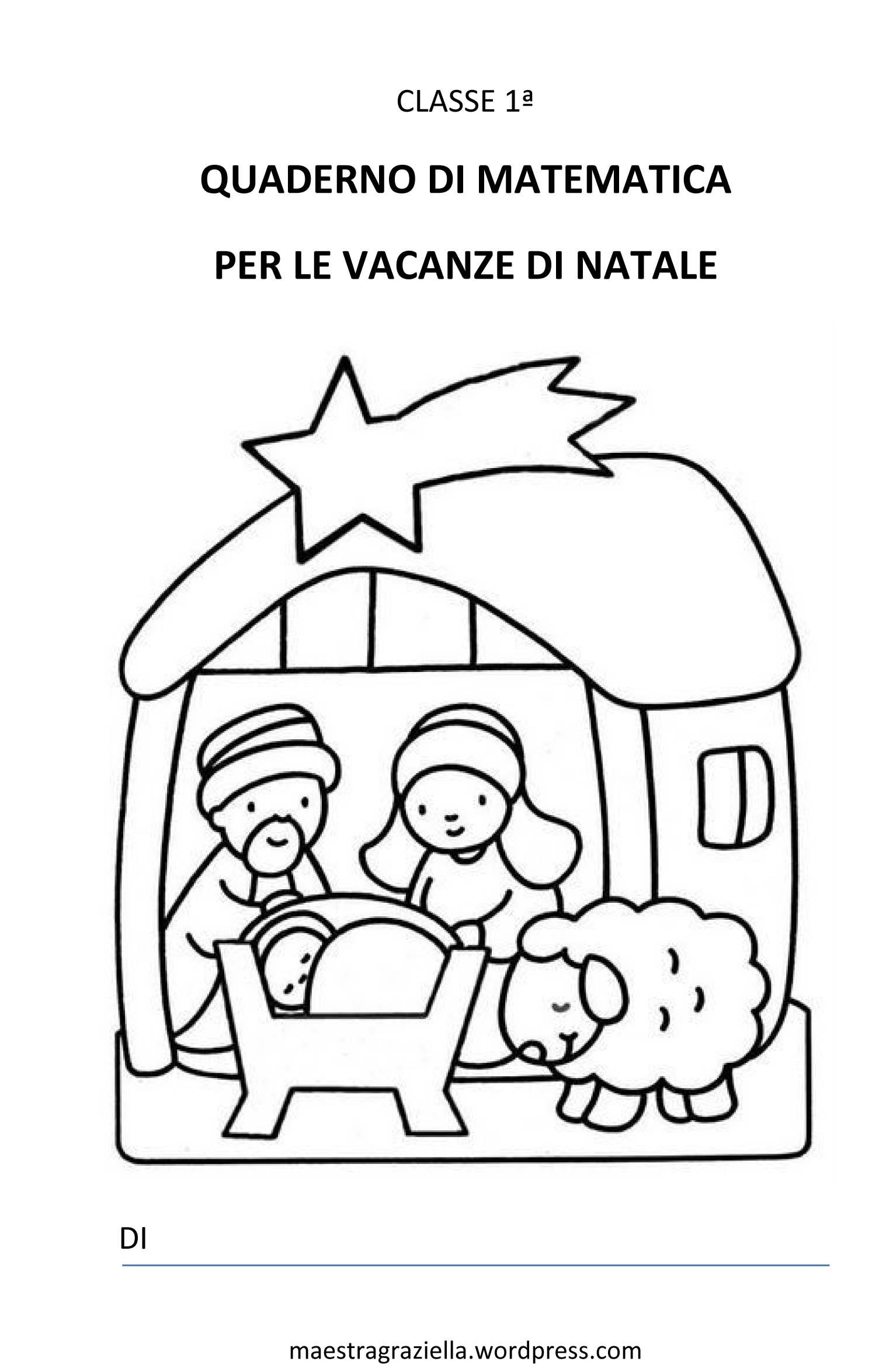 Preferenza COMPITI PER LE VACANZE DI NATALE | Maestragraziella VL52